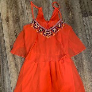 My Michelle flowy summer dress